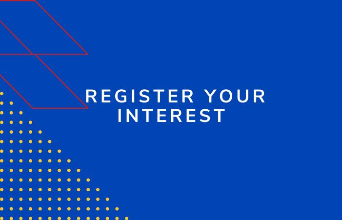 Quinta register your interest hover block